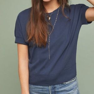 Anthropologie Banded Tee